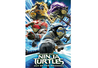 TMNT Out of the Shadows Poster Gruppe