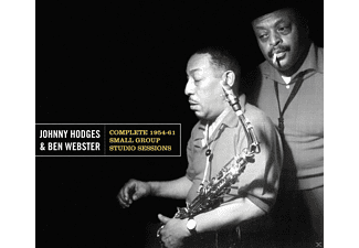 Johnny Hodges, Ben Webster - Complete 1954-61 Small Group Studio Sessions+8 [CD]