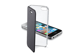 CELLULAR-LINE Clear Book iPhone 5/5s/SE Zwart