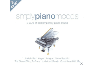 VARIOUS - Simply Piano Moods (2cd) [Doppel-Cd] - (CD)