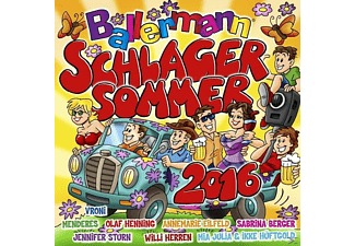 VARIOUS - Ballermann Schlagersommer 2016 - (CD)