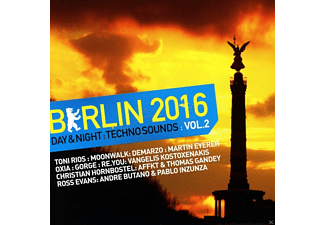 VARIOUS - Berlin 2016-Day & Night Techno Sounds Vol.2 - (CD)