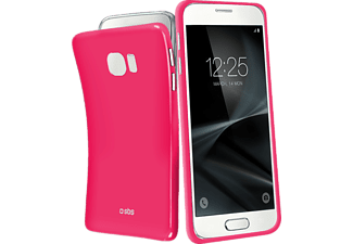 SBS MOBILE Extra-Slim Cover Galaxy S7 - Rosa