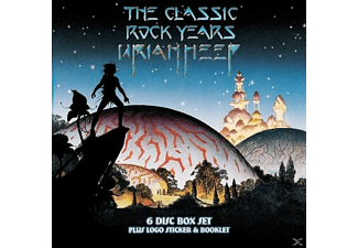 Uriah Heep - The Classic Rock Years - (CD + DVD Video)