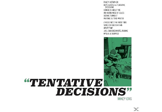 Mikey Erg - Tentative Decision [CD]