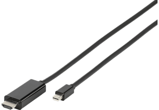 VIVANCO Mini Displayport - HDMI 1.8 m - Svart