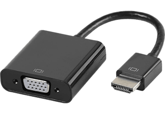 VIVANCO HDMI-adapter till VGA 10 cm - Svart