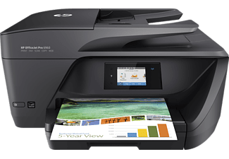 HP OfficeJet Pro 6960, 4-in-1 Multifunktionsdrucker, Schwarz