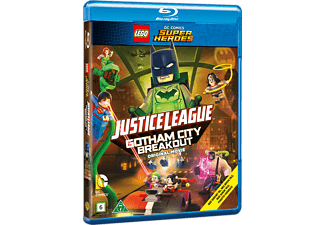 Lego Justice League: Gotham Breakout Animation / Tecknat Blu-ray