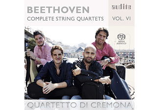 Quartetto Di Cremona - Complete String Quartets Vol.6 - (SACD)