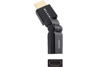 BELKIN Adapter HDMI M/F Swivel Black Gold-Plated - (F3Y039bt)