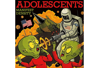 The Adolescents - Manifest Density - (CD)