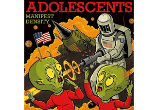The Adolescents - Manifest Density (Limited Edition) - (Vinyl)