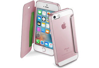 CELLULAR-LINE Clear Book iPhone 5/5s/SE Roze