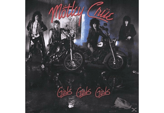Mötley Crüe - Girls Girls Girls - (CD)