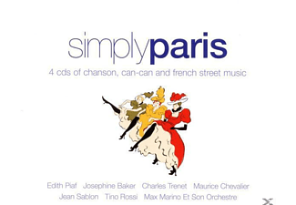 VARIOUS - Simply Paris - (CD)