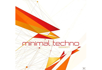 VARIOUS - Minimal Techno Session - (CD)