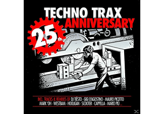 VARIOUS - Techno Trax-25 Years Anniversary - (CD)