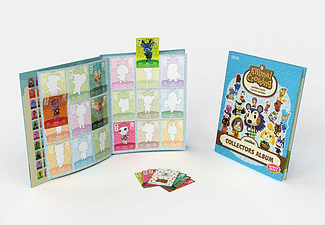 NINTENDO Animal Crossing Collectors Album Serie 3 + 3 Amiibo Cards