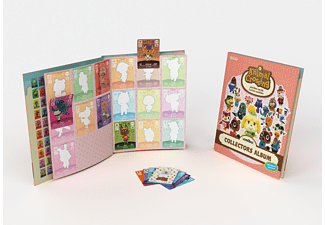 NINTENDO Animal Crossing Collectors Album Serie 4 + 3 Amiibo Cards