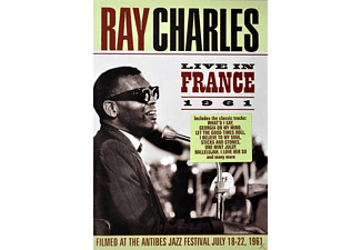 Ray Charles - Ray Charles - Live In France 1961 - (DVD)