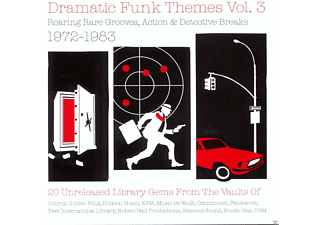 VARIOUS - Dramatic Funk Themes # 3 [CD]