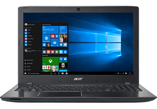 ACER Aspire E 15 ( E5-575G-50W9), Notebook mit 15.6 Zoll Display, Core™ i5 Prozessor, 8 GB RAM, 256 GB SSD, 1 TB HDD, GeForce 940MX, Schwarz