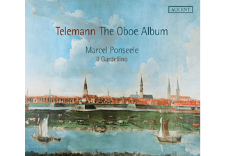 Marcel Ponseele, Il Gardellino - The Oboe-Album - (CD)