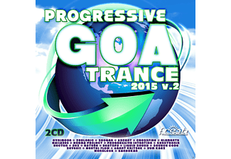 VARIOUS - Progressive Goa Trance 2015 Vol.2 - (CD)