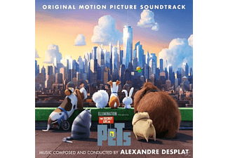 Alexandre Desplat - Secret Life Of Pets [CD]