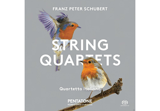 The Quartetto Italiano - Streichquartette 10 +13 - (SACD Hybrid)