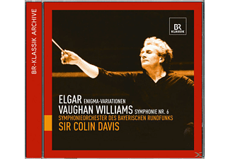 Colin & Br So Davis, Sir Colin/br So Davis - Enigma-Variationen/Sinfonie 6 - (CD)
