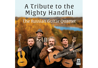 Russian Guitar Quartet - A Tribute to the Mighty Handful - (CD)