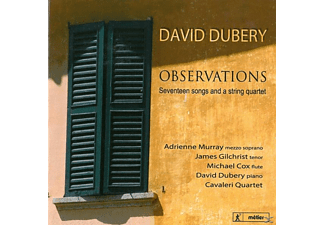 Murray/Gilchrist/Cox/Dubery/+ - Observations - (CD)