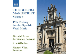 Yetzabel Arias/ars Atlantica Fernández - The Guerra Manuscript Vol.3 - (CD)