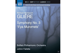Falletta/Buffalo Philharmonic - Sinfonie 3 - (Blu-ray Audio)
