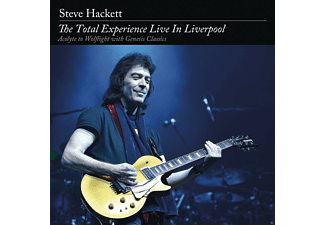 Steve Hackett - The Total Experience Live In Liverpool - (CD + DVD)