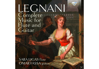 Sara Ligas, Omar Fassa - Complete Music For Flute And Guitar [CD]