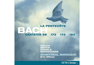 Montreal Baroque - Cantatas For Pentacost - (CD)