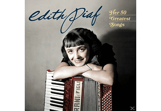 Edith Piaf - Her 50 Greatest Songs - (CD)