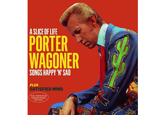 Porter Wagoner - A Slice Of Life+Satified Mind+6 Bonus Tracks - (CD)
