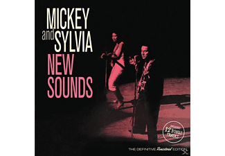 Mickey And Sylvia - New Sounds+12 Bonus Tracks - (CD)