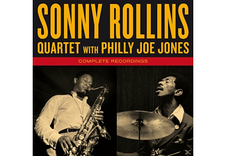 Sonny Rollins Quartet With Philly Joe Jones - Complete Recordings+1 Bonus Tracks [CD]