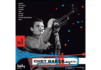 Chet Baker - Quartet Vol.1 (Feat. Dick Twardzik) [CD]