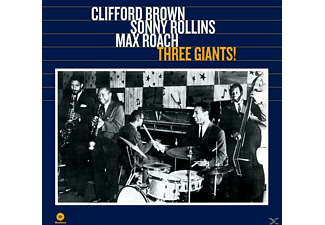 Clifford & Rollins Brown - Three Giants! (Ltd.180g Vinyl) [Vinyl]