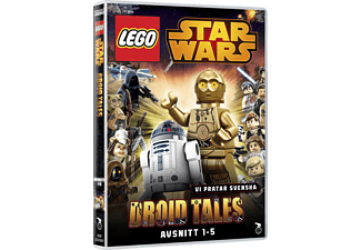 Lego Star Wars: Droid Tales 1-5 Animation / Tecknat DVD