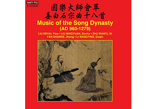 Liu Dehai / Liu Mingyuan / Zhu Runfu / Fan Shange / Li Xiangting - Music Of The Song Dynasty (AD 960-1279) - (CD)