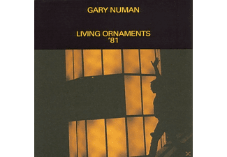Gary Numan - Living Ornaments 81 - (CD)