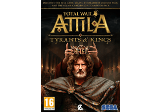 Total War: Attila Tyrants & Kings Edition PC