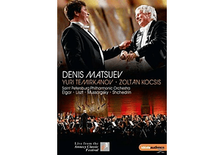 Denis Matsuev, Saint Petersburg Philharmonic Orchestra - Annecy Classical Festival 2015 - (DVD)